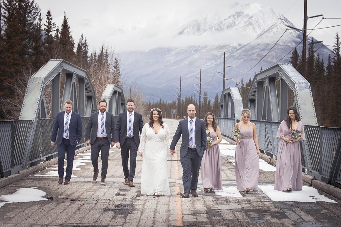 Marc & Keltie Wedding - Jasper National Park