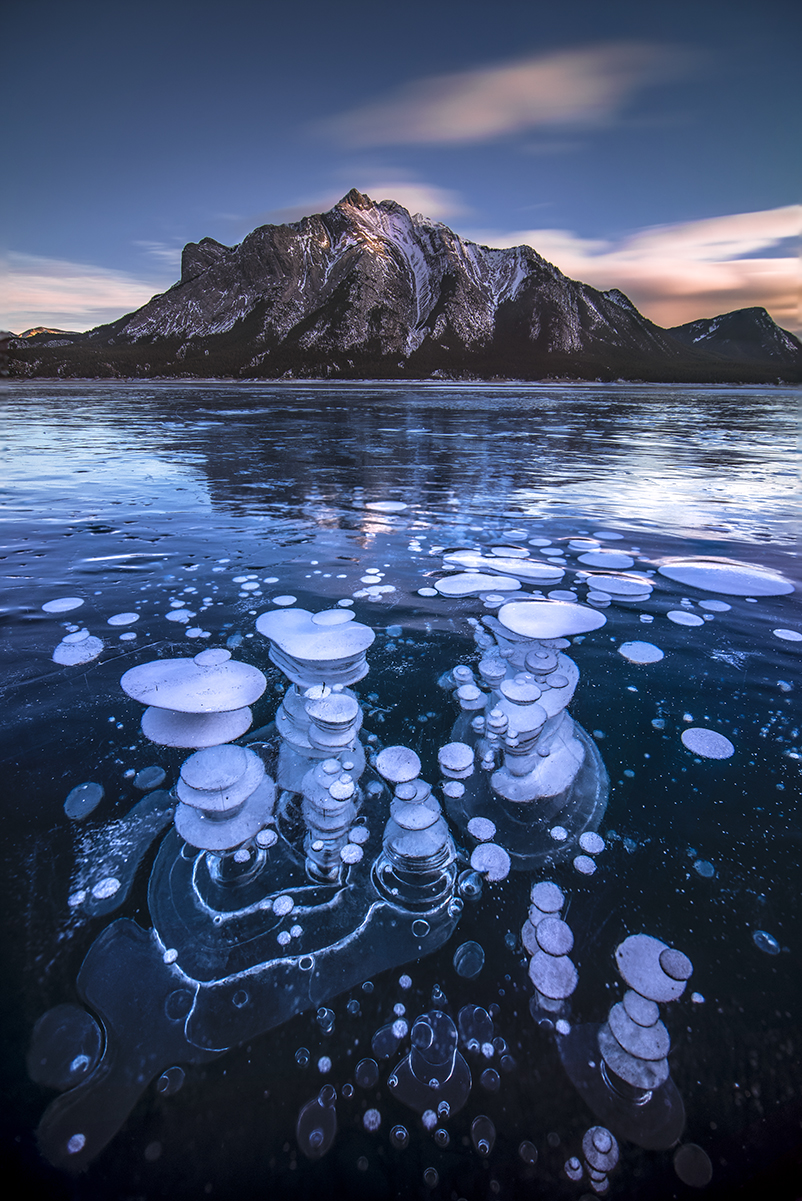 Abraham Lake Sunset, Banff National Park